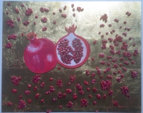 Pomegranate artwork